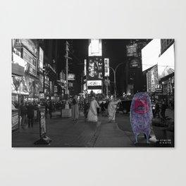 Unseen Monsters of New York - Guffaw Kismet Canvas Print