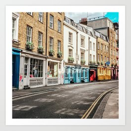 Covent Garden Corners Art Print