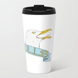 Seagulls Metal Travel Mug