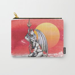 Winged Warrior Fairy Carry-All Pouch