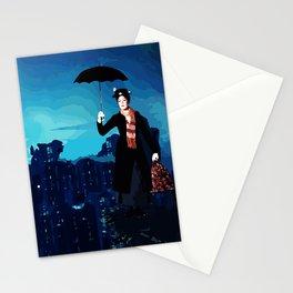 The Dark Nanny Rises Stationery Cards
