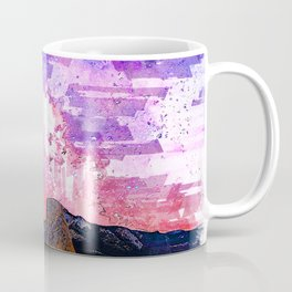 Milkyway Galaxy Space Yosemite National Park Dusk USA. For Space & Astronomy Lovers. Coffee Mug