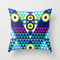 V (in LOVE) Throw Pillow