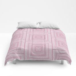 Dusty Rose Drawing Therapy Comforters