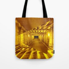 Gold way Tote Bag
