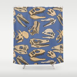 Paleontology Shower Curtain