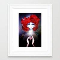 zen Framed Art Prints featuring Zen by Jaleesa McLean