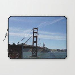 Golden Gate Bridge in San Francisco, California Laptop Sleeve