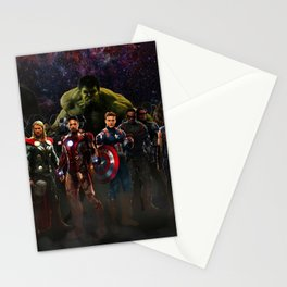 super hero Stationery Cards