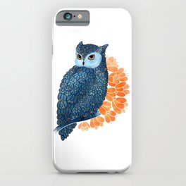 Blossoming owl iPhone Case