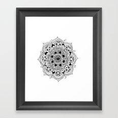 mandalavera Framed Art Print