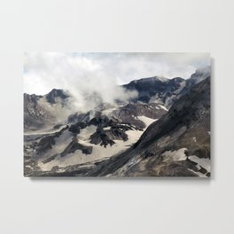 Mount Saint Helens lava dome closeup Metal Print