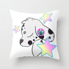 Mary Dalmation Throw Pillow