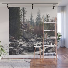 Morning Mountain Escape - Nature Photography Wall Mural