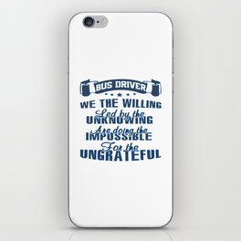 BUS DRIVER iPhone Skin