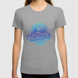 Dream Explore Discover Adventure Is Out There bl T-shirt