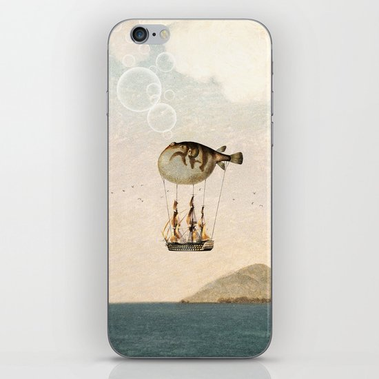 The Big Journey iPhone & iPod Skin