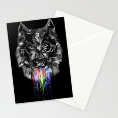WILD WOLF Stationery Cards