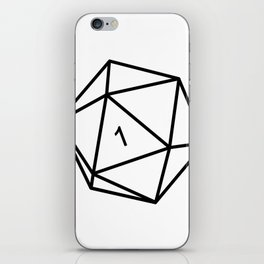 Fumble - Dungeons & Dragons for Dummies iPhone Skin