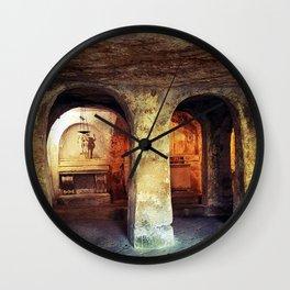 Chiese Rupestri Wall Clock