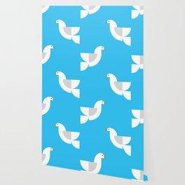Geometric Dove Wallpaper
