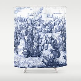 Naval Conquest Shower Curtain