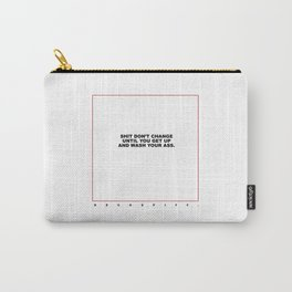 kenny (white/red) Carry-All Pouch