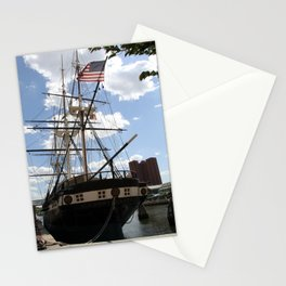 Old Glory - USS Constellation Stationery Cards