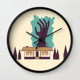 The Cabin in the Woods Wall Clock