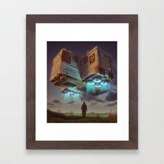 DELTA-3 (everyday 08.04.16) Framed Art Print