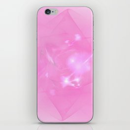 Folds In Pink iPhone Skin