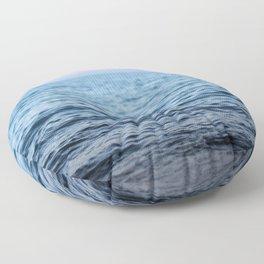 At Rest - a sunset Floor Pillow