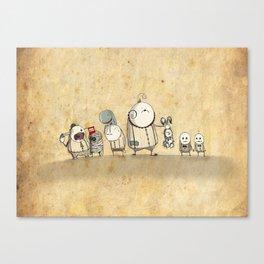 The Circus Canvas Print