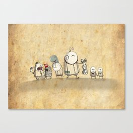 The Circus Canvas Print
