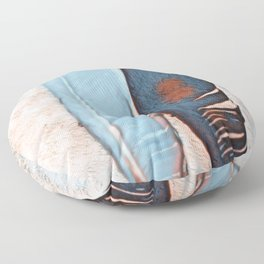 Two Feathers Floor Pillow