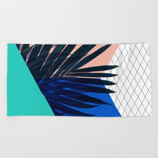 Eclectic Geometry Beach Towel