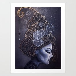 HEXY Art Print
