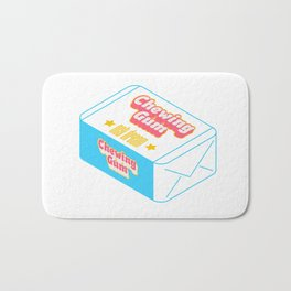 Chewing Gum Bath Mat