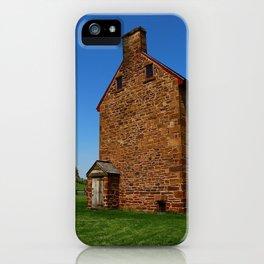 Stonehouse Manassas Battlefield iPhone Case