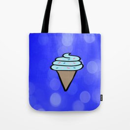 Ice Cream Sign, Ice Cream Print, Ice Cream Cone Art, Wall Art, Society6, Summer, Cute, Tropical, Tote Bag