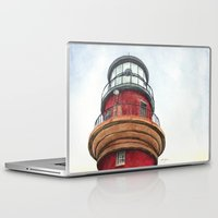 lighthouse Laptop & iPad Skins featuring Lighthouse by Jackie Sullivan