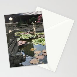 Temple waters  Stationery Cards