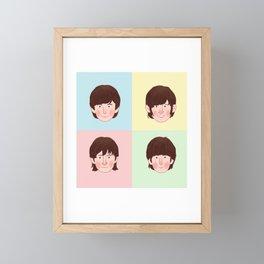 60's super band Framed Mini Art Print