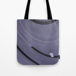 feather on ice Tote Bag
