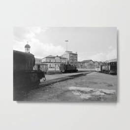 The End of the Steam Age Metal Print