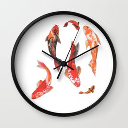 Fishes! Wall Clock
