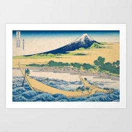 Katsushika Hokusai - Tago Bay Blockprint Art Print