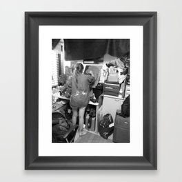 In the flesh Framed Art Print