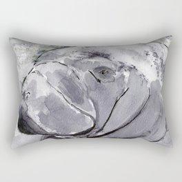 Manatee - Animal Series in Ink Rectangular Pillow