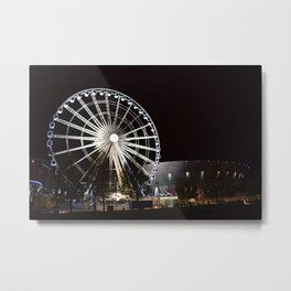 Liverpool By Night Metal Print